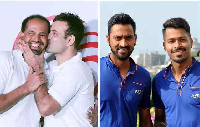 Dashing brothers duo in cricket history