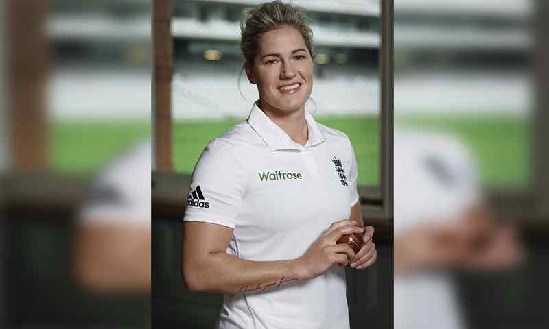 Top 10 Most Beautiful Women Cricketers of All Time Katherine Brunt – England