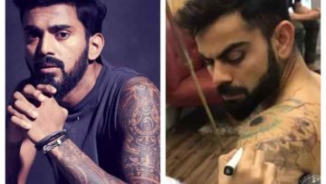Six Indian cricketers who have amazing tattoos