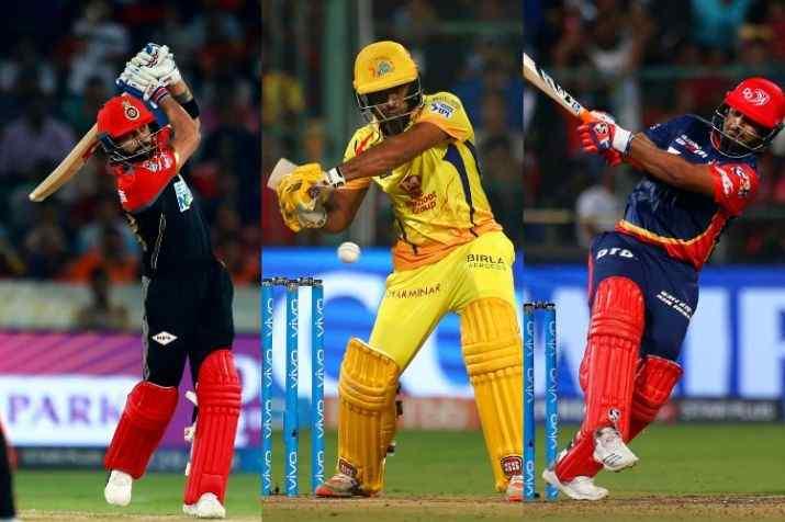 Top 5 Batsmen scoring most boundaries (Fours) in IPL history