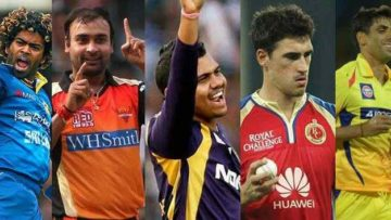 Top 5 Highest and Leading Wicket Takers in IPL History