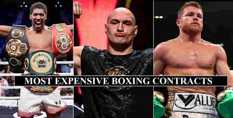 All Time Most Expensive Boxing Contracts Details in History