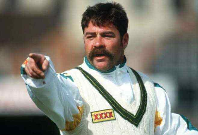 David Boon - Famous Mustaches in Crickter