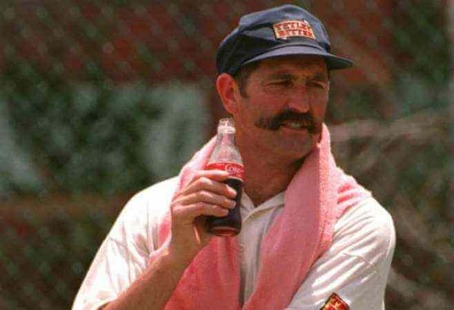 Graham Gooch - Famous Cricketer With Mustaches
