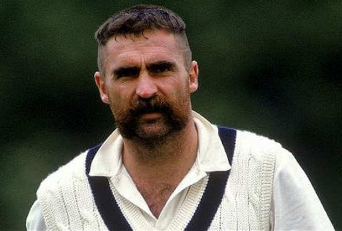 Merv Hughes - Most Famous Cricketer with Mustaches