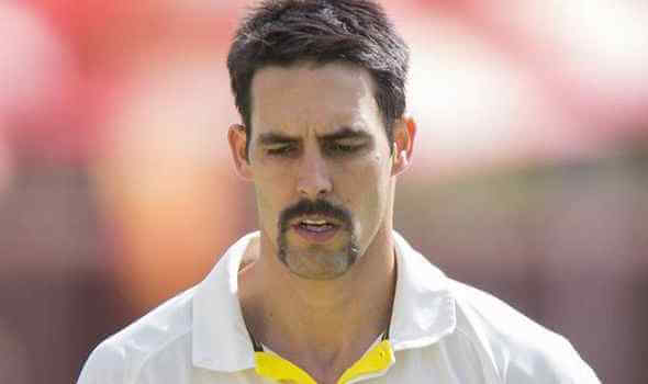 Mitchell Johnson - Famous Crickter With Mustache