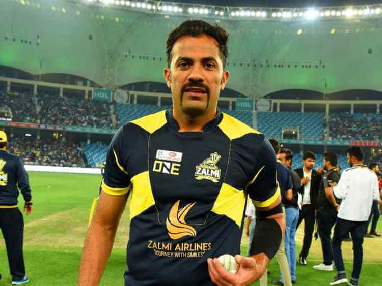 Wahab Riaz - Famous Mustaches in cricket
