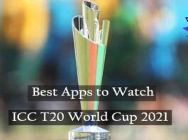 Best Apps to Watch ICC T20 World Cup